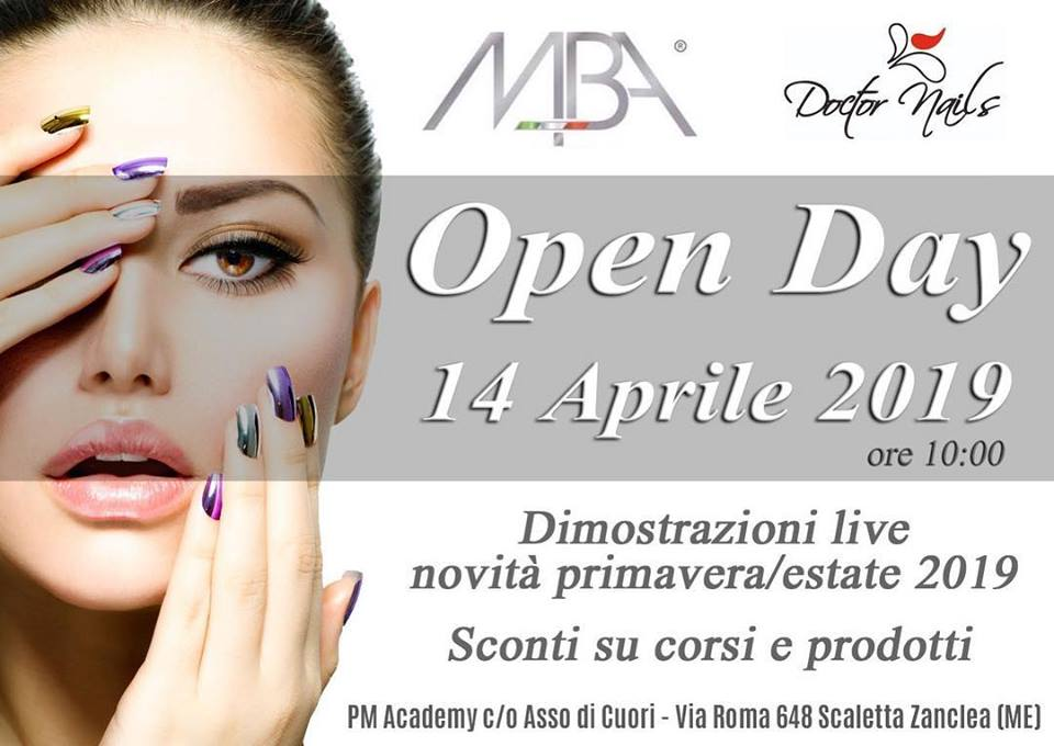 Open Day MBA Doctor Nails con Pasquita Manganaro