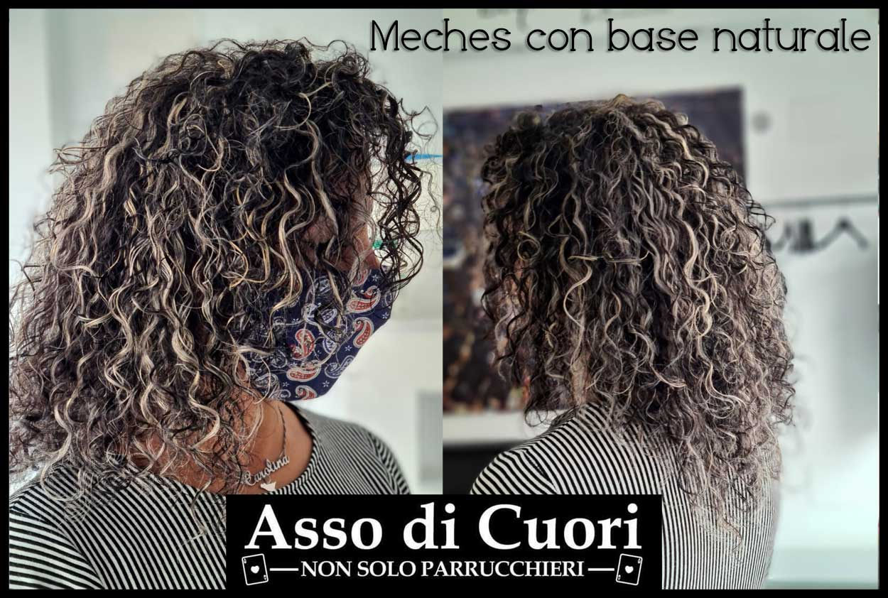 Meches con base naturale