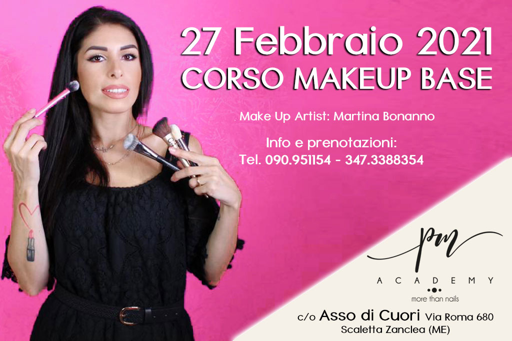 Corso di Make Up Base